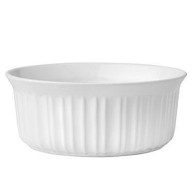 Corningware French White 1.5-Qt Round Casserole
