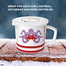 NHL® Detroit Red Wings® 20-ounce Meal Mug™, Al the Octopus™ with Lid