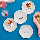 "Celebrations 6.75"" Appetizer Plates, 4-pack"