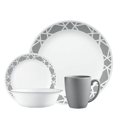 Corelle Livingware Modena 16-pc Dinnerware Set