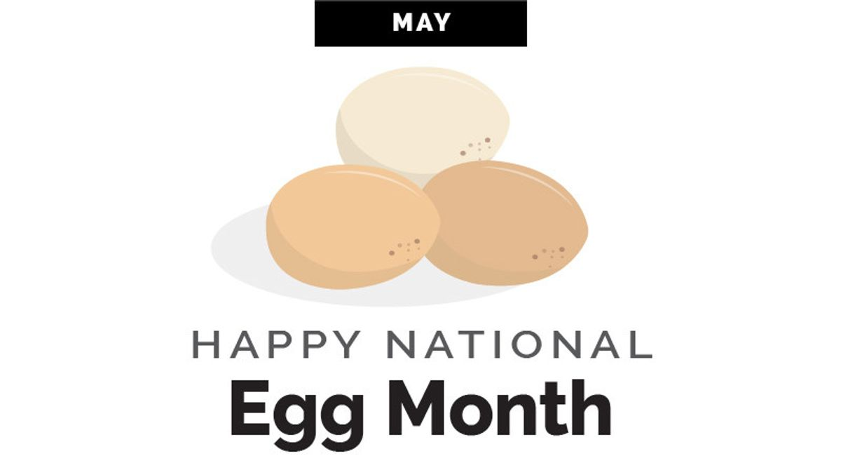World Kitchen | Happy National Egg Month Corelle Infographic