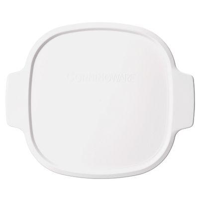 Corningware Stovetop 2-Qt / 3-Qt Plastic Lid, White