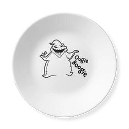 """Disney The Nightmare Before Christmas Oogie Boogie 6.75"""" Appetizer Plate"""