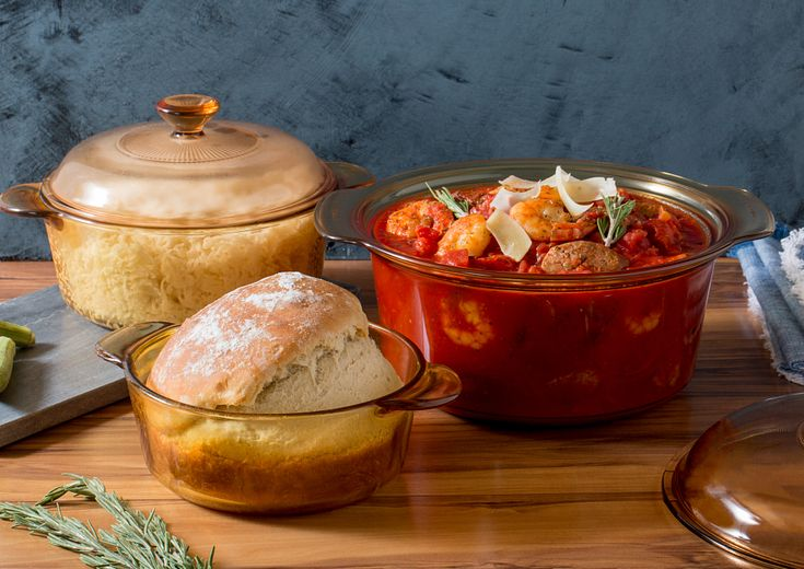 visions cookware on tabletop
