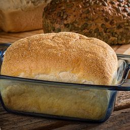 Easy Grab 1.5-qt Loaf Dish  with Bread Inside
