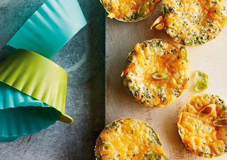 Broccoli-Cheddar Egg Muffins