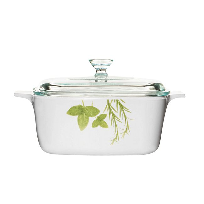 European Herbs 1.5-liter Baking Dish with Lid