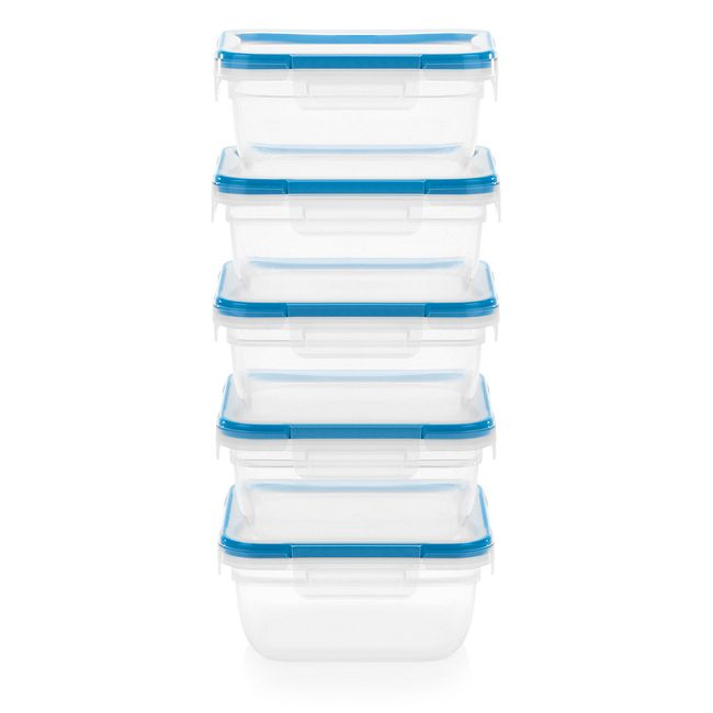 Total Solutions 10-piece 5.5-cup Food Storage Container Set