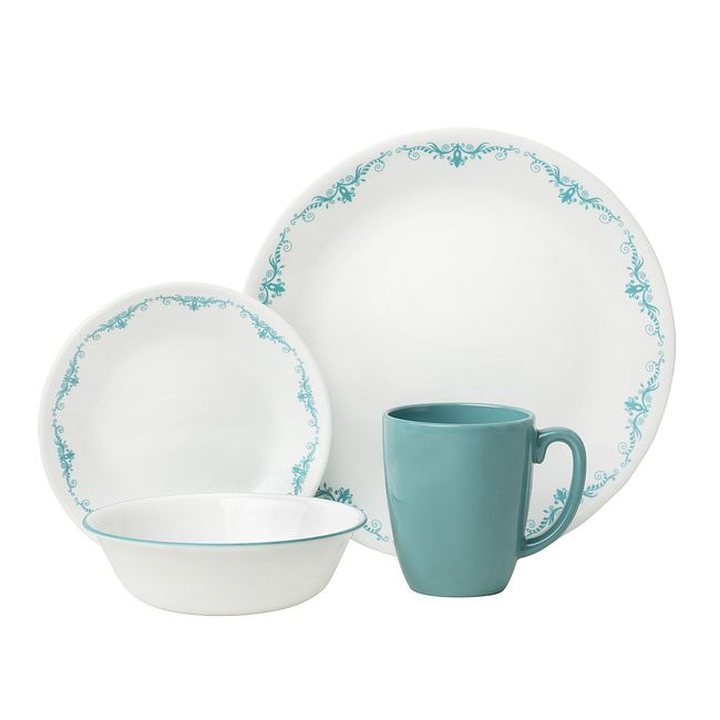 Garden Lace 16-piece Dinnerware Set, Service for 4
