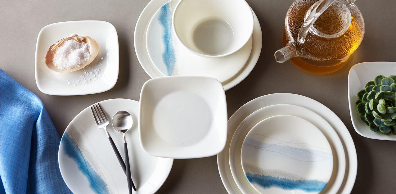 Blue Adirondack Corelle Dinnerware