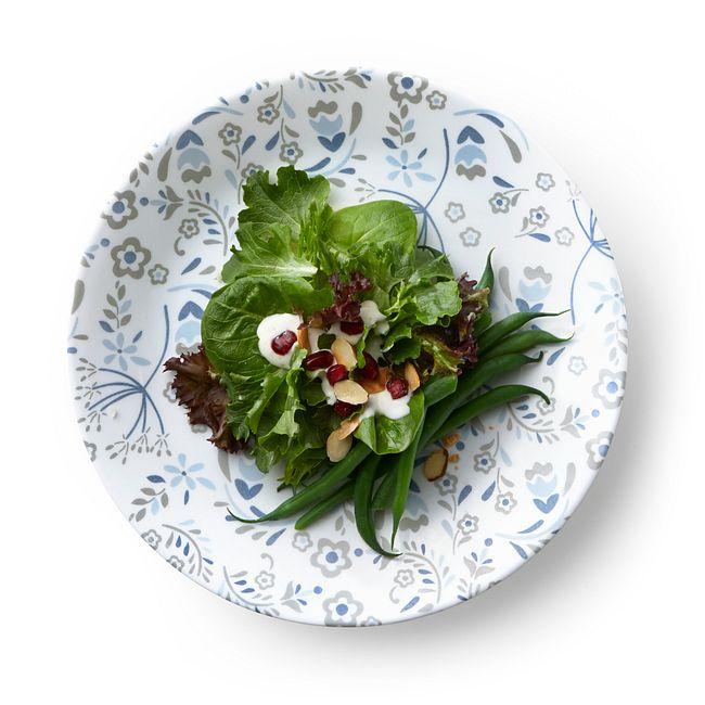 """Prairie Garden Gray 8.5"""" Salad Plate"""