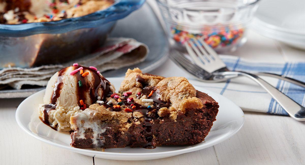 One-Dish Brookie Pie