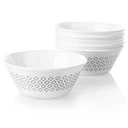Farmstead Gray 21.5-ounce Medium Soup Bowl, 6-pk
