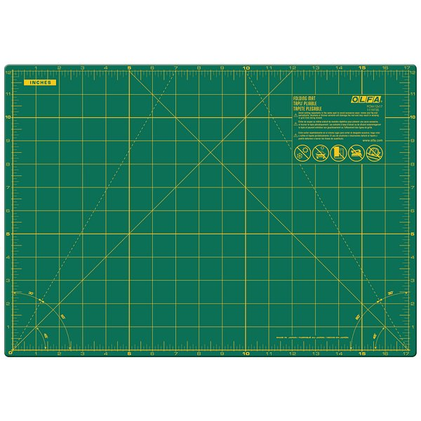 17″ x 24″ Folding Cutting Mat (FCM-17×24)
