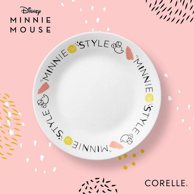 """6.75"""" Appetizer Plates 4-pc Set, Minnie Mouse"""