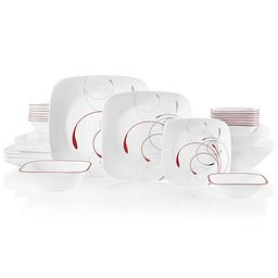 Splendor 44-piece Dinnerware Set, Service for 8