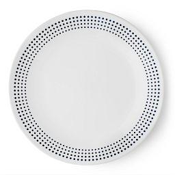 "Livingware™ Bayside Dots 8.5"" Plate  Navy"