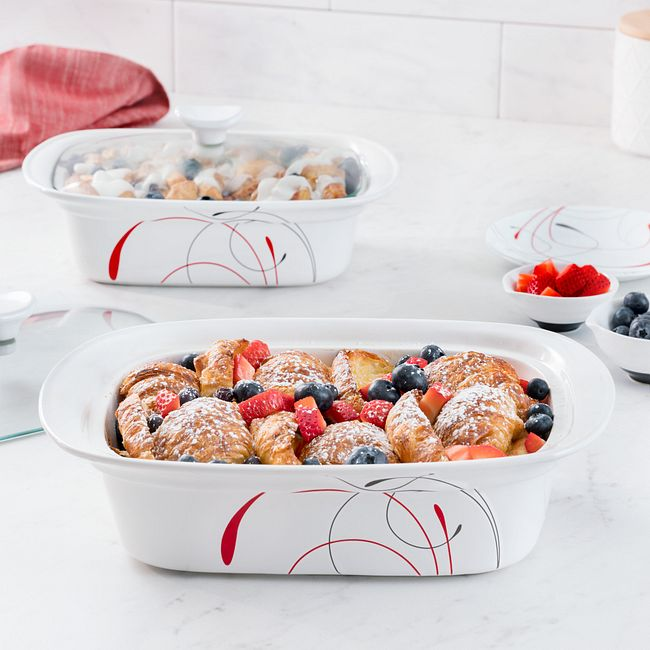 Splendor 4-piece Casserole Set