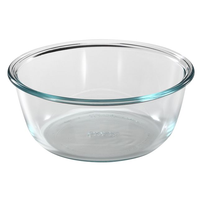 5-cup Round Glass Food Storage Container