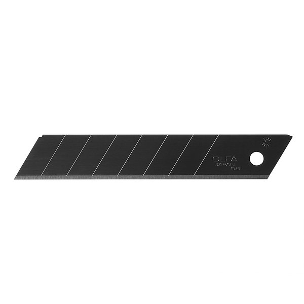 18mm Heavy-duty Ultra-sharp Black Snap-off Blades, 50 pack (LBB-50B)