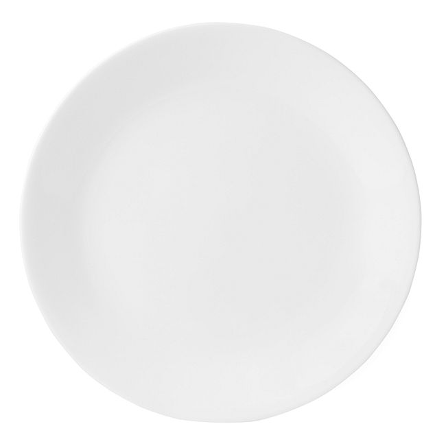 "Winter Frost White 10.25"" Dinner Plate"