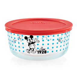 Pyrex 4-cup Decorated Storage: Mickey Mouse - Since 1928