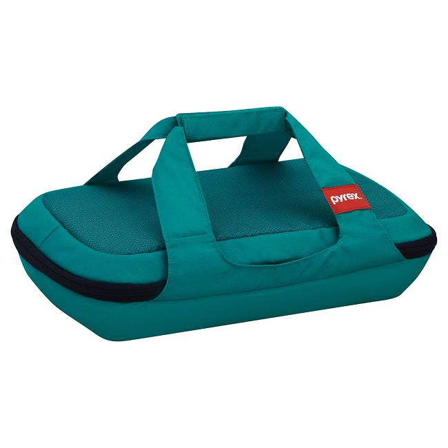 Portables Turquoise Rectangular Bag for 3-quart Baking Dish