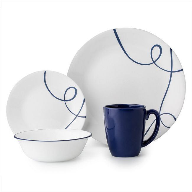 Lia 16-piece Dinnerware Set, Service for 4