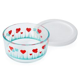 Simply Store® 1 Cup Lucky in Love Storage Dish w/ Lid