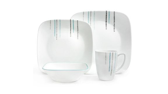 Rain Drops 16-pc Dinnerware Set