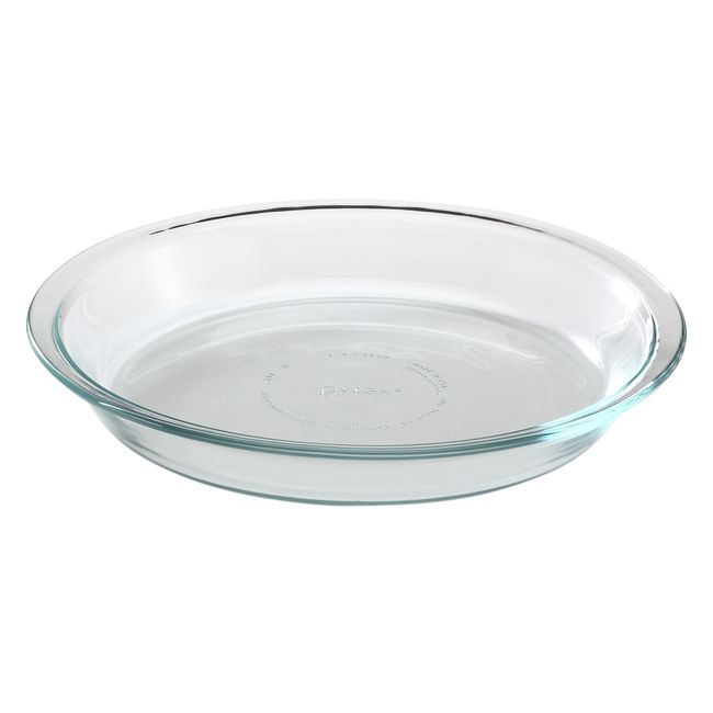 "9"" Glass Pie Plate"