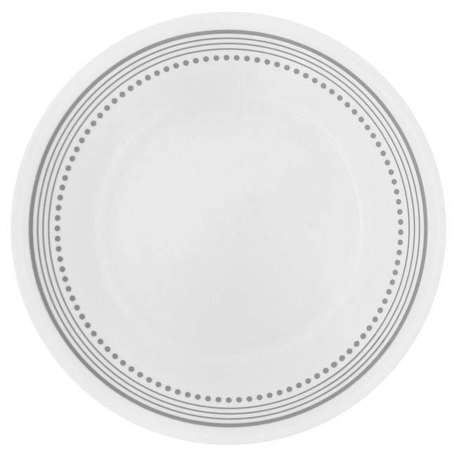 "Mystic Gray 6.75"" Appetizer Plate"