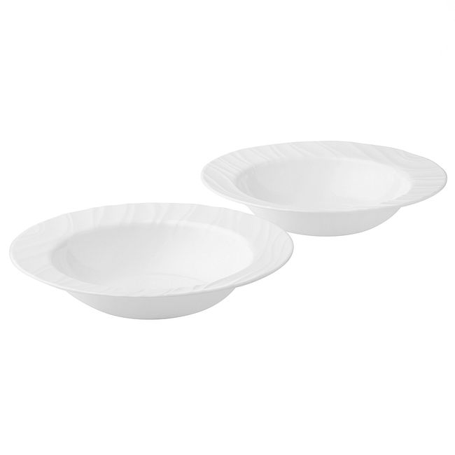 Swept 28-ounce Large Soup Bowls, 2-pack