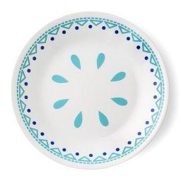 "Livingware™ Santorini Sky 6.75"" Plate"