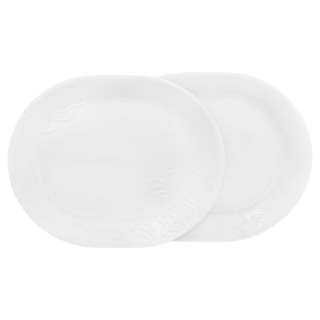 "Cherish 12.25"" Serving Platters, 2-pack"