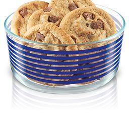 Simply Store 4 Cup Blue Lane Storage Dish w/Cookies