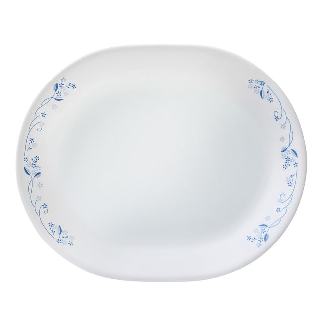 "Provincial Blue 12.25"" Serving Platter"