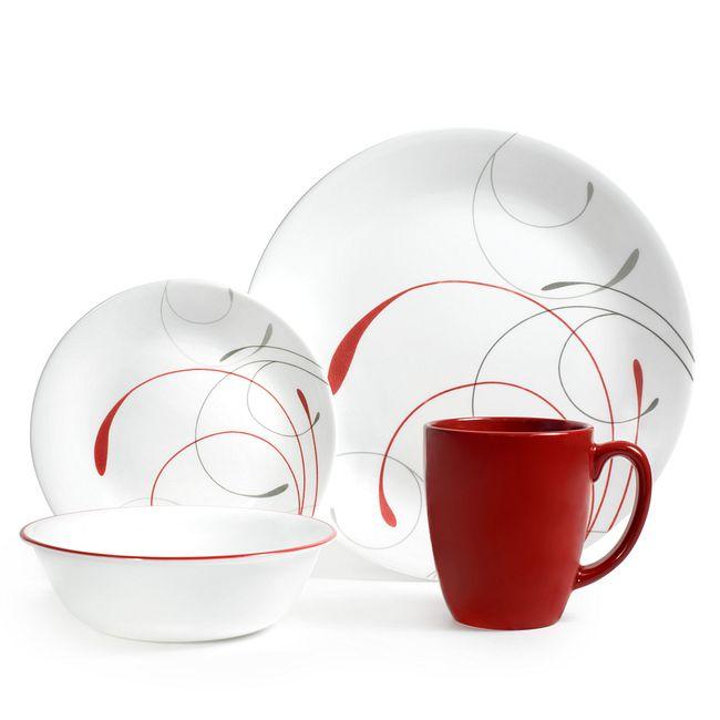 Splendor 16-piece Round Dinnerware Set, Service for 4