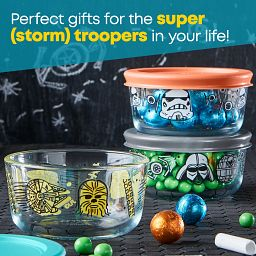 text that says perfect gifts for the super storm troopers in your life!