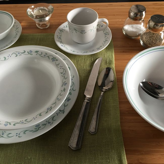 Livingware™ Country Cottage 76-pc Dinnerware Set