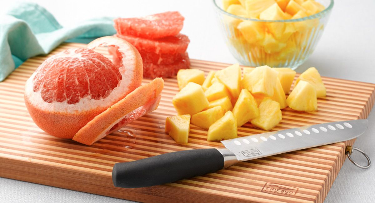How to Cut and Cook With Fruit