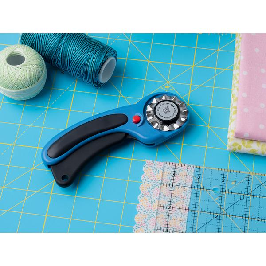 45mm Ergonomic Rotary Cutter, Blue (RTY-2DX/PBL)