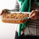 Easy Grab 2-qt Oblong Baking Dish w/ Blue Lid