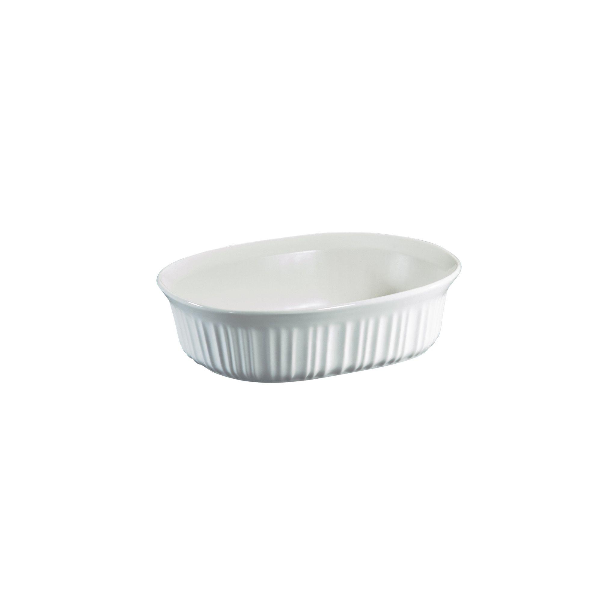 Corningware French White 1.5-Qt Oval Casserole