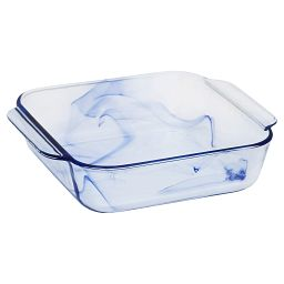 "Watercolor Collection Blue Lagoon 8"" Square Baking Dish"