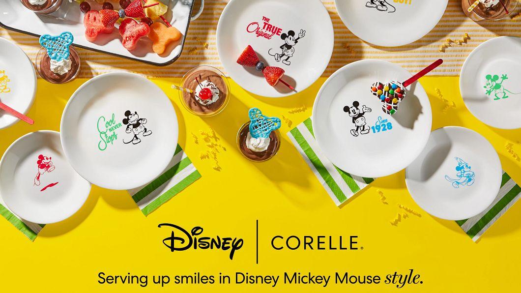 Assorted Disney Corelle plates