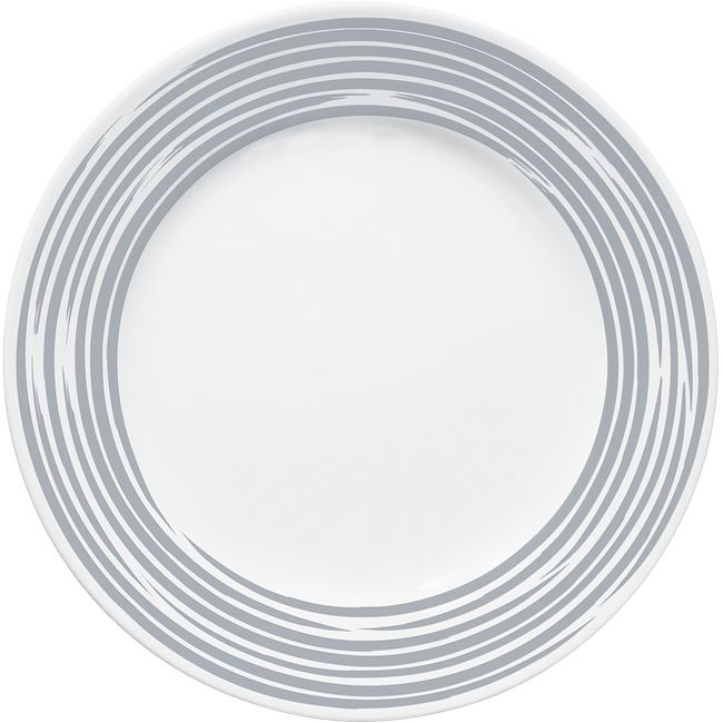 Brushed Silver 16-piece Dinnerware Set, Service for 4