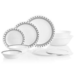 City Block 78-pc Dinnerware Set