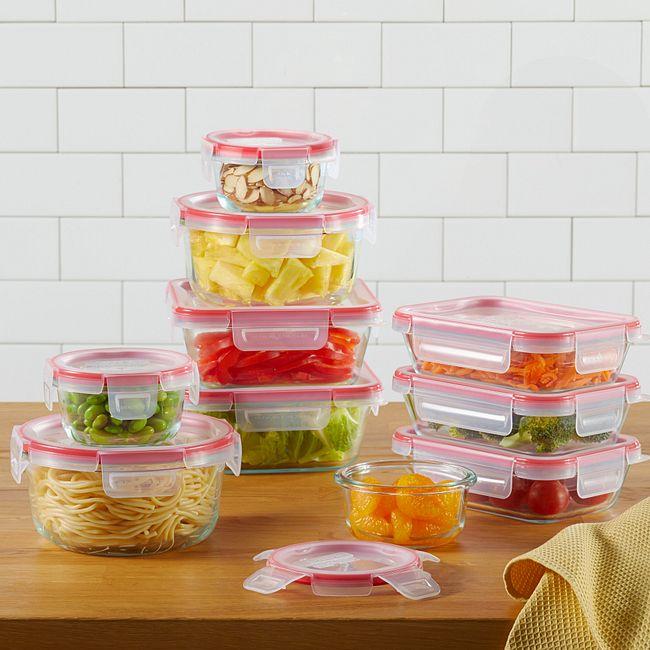 Freshlock™ 20-piece Glass Storage Set
