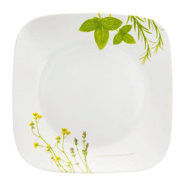 """European Herbs 9"""" Salad Plate"""